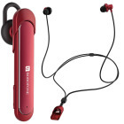 Borofone Bluetooth Headset BE10 red