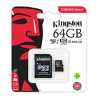Kingston MicroSDHC 64GB 80MB/s inkl. Adapt...