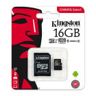 Kingston MicroSDHC 16GB 80MB/s inkl. Adapt...