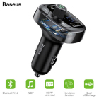 Baseus Bluetooth T-Type FM Transmitter & C...